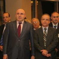 На первом плане: Теймураз Юрьевич Хихинашвили и Председатель Ассоциации промышленников Израиля Шрага Брош