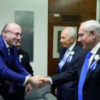 Встреча Хихинашвили Т. Ю. с премьер-министром Государства Израиль Беньямином Нетаньяху
