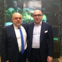 Президент Российского еврейского конгресса Юрий Каннер и Т.Ю. Хихинашвили