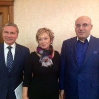 С послом Государства Израиль в России Дорит Голендер